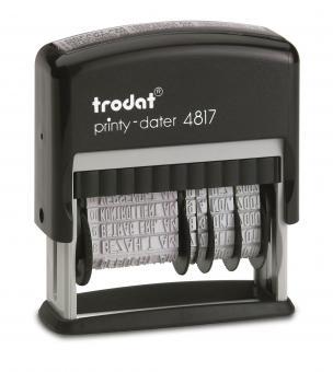 trodat® Stempel Wortband mit Datum Trodat 4817 Printy