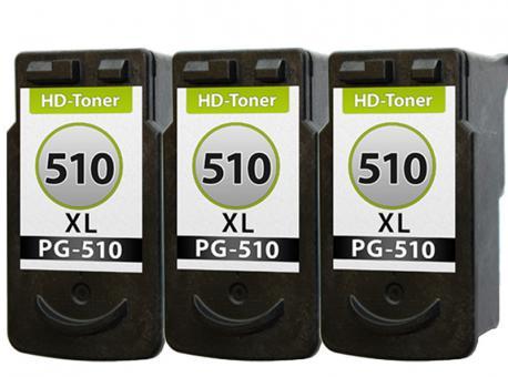 Patronen Canon 3x PG-510 XL Refill