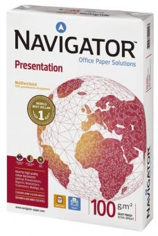Navigator Presentation Papier A4, 100 g/qm, 500 Blatt