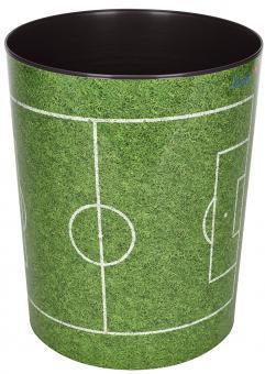 Läufer Papierkorb - 13 L, Fussballfeld