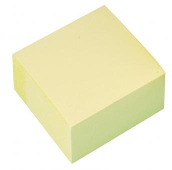 Q-Connect Haftnotiz-Würfel mit 400 Blatt - gelb