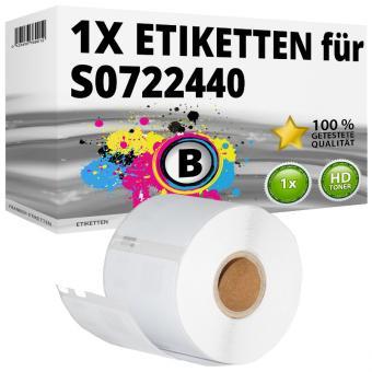 Alternativ Dymo Vielzweck-Etiketten 99015 54x70 mm