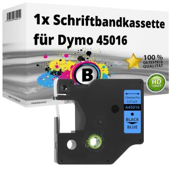 Alternativ Dymo D1 Etiketten Label Cassette 45016 12mm x 7m