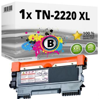 Alternativ Brother Toner TN-2220 XL Schwarz