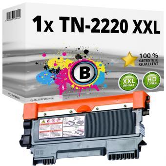 Alternativ Brother Toner TN-2220 XXL Schwarz