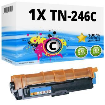 Alternativ Brother Toner XL TN-246C / TN-242C Cyan