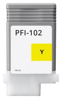 Alternativ Canon Tintenpatrone PFI-102Y / 0898B001 Gelb