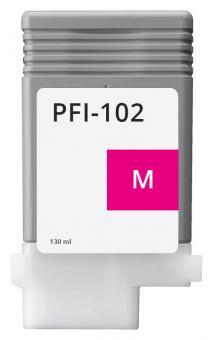 Alternativ Canon Tintenpatrone PFI-102M / 0897B001 Magenta