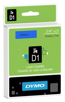 Original Dymo D1 Etiketten Label Cassette 40916 9 mm x 7 m