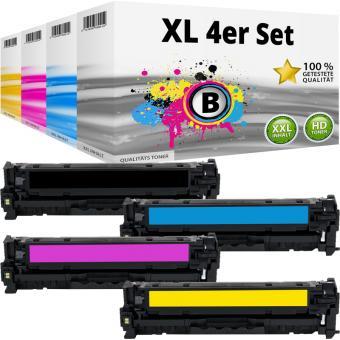 Alternativ Toner Set HP 304A CC530A CC531A CC532A CC533A