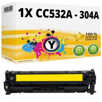 Alternativ HP Toner 304A CC532A Gelb
