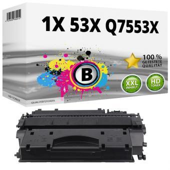 Alternativ HP Toner 53X Q7553X Schwarz