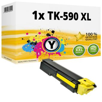 Alternativ Kyocera Toner TK-590Y XL Gelb
