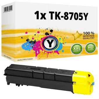 Alternativ Kyocera Toner TK-8705Y 1T02K9ANL0 Gelb