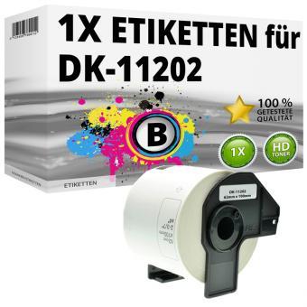 Alternativ Brother Versand-Etiketten DK-11202 Label