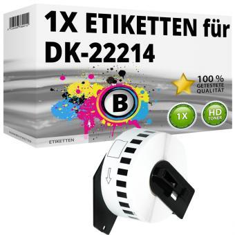 Alternativ Brother Endlos-Etikett DK-22214 Tape