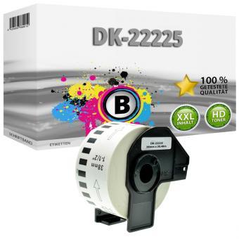 1 Endlos Etikette 62mm für Brother P-touch DK-22225 QL 500BW QL 550 QL 560