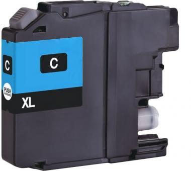 Alternativ Brother Druckerpatronen LC-123 Cyan (mit Chip)