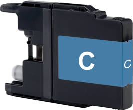 Alternativ Brother Druckerpatronen LC1280XL-C Cyan