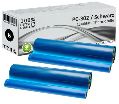 2x Alternativ Brother Thermo-Transfer-Rolle PC-302RF