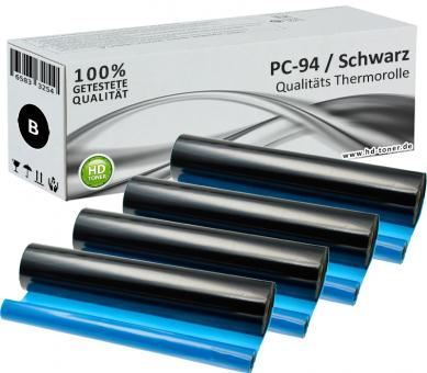 4x Alternativ Brother Thermo-Transfer-Rolle PC-94RF