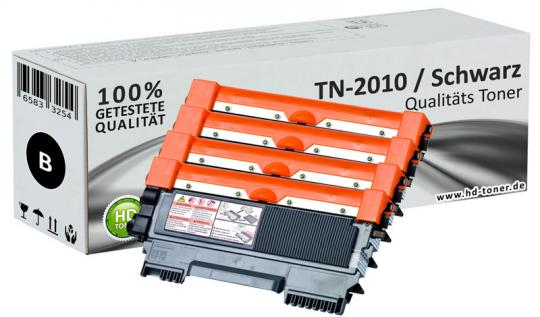 4x Alternativ Brother TN2010 Toner Spar Set