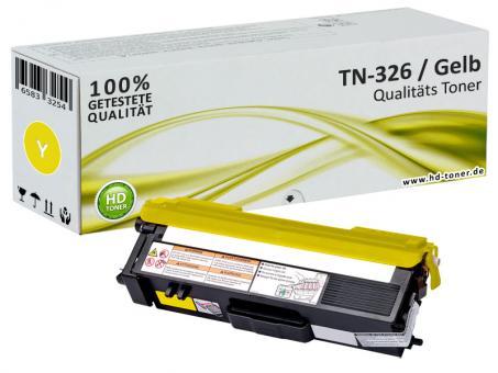 Alternativ Toner Brother TN-326Y Yellow / Gelb