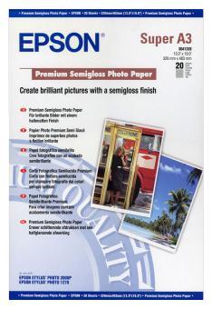 Epson Fotopapier S041328 DIN A3+ seidenmatt - 250 g/qm - 20 Blatt