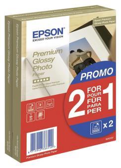 Epson Fotopapier 10 x 15 - glänzend - 255g - 80 Blatt