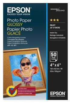 Epson Fotopapier 10 x 15 - glänzend - 200g - 50 Blatt