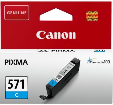 Original Canon Patronen CLI-571C Cyan