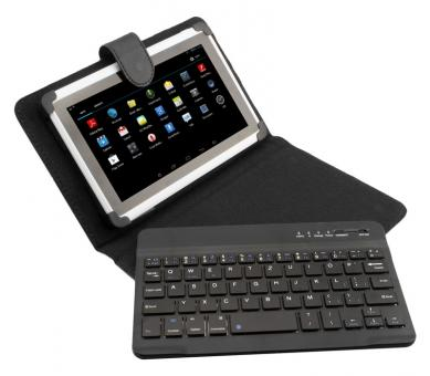 Ninetec Bluetooth Keyboard Case für 7 Zoll Tablets