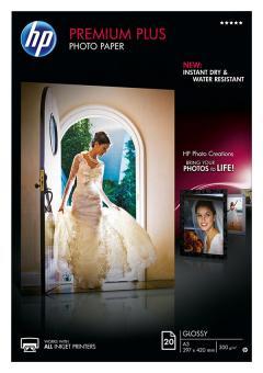 HP Fotopapier DIN A3 / CR675A - glänzend - 300g - 20 Blatt