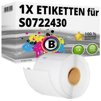 Alternativ Dymo Namenschilder-Etiketten 99014 54x101 mm