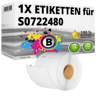 Alternativ Dymo Ordner-Etiketten 99019 54x101mm
