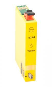 Alternativ Epson Patronen T0714 Gelb