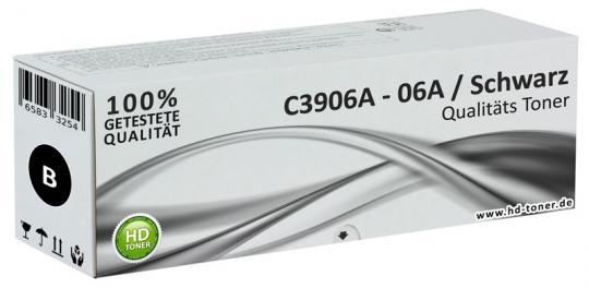 Alternativ HP Toner 06A C3906A XL Schwarz
