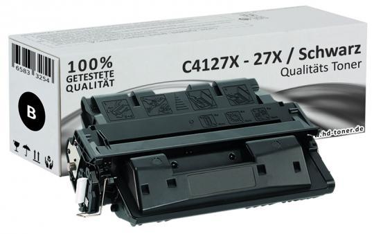 Alternativ HP Toner 27X C4127X Schwarz