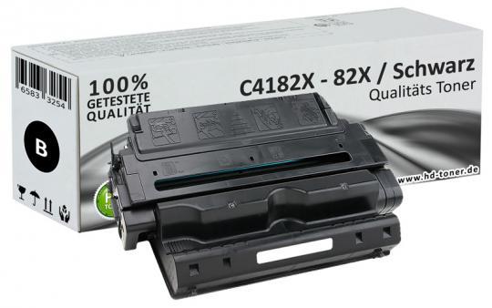 Alternativ HP Toner 82X C4182X Schwarz