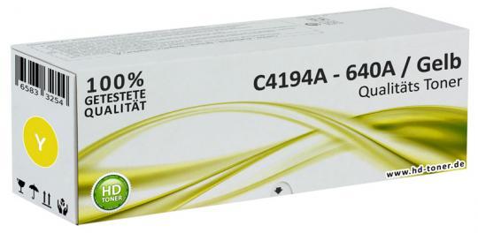 Alternativ HP Toner 640A C4194A Gelb
