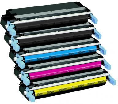 Alternativ HP Toner 645A C9730A+C9731A+C9732A+C9733A 5er Set