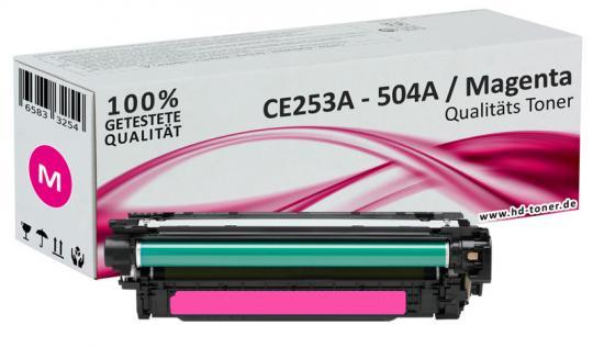 Alternativ HP Toner 504A CE253A Magenta