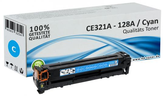 Alternativ Toner HP CE321A 128A Cyan CP1525 CM1415