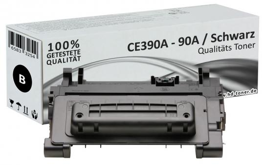 Alternativ HP 90A Toner CE390A Schwarz