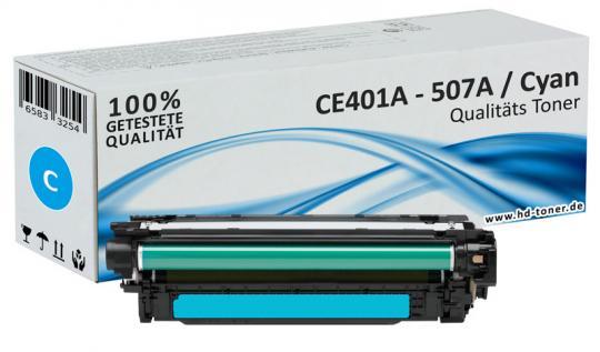 Alternativ HP Toner 507A / CE401A Cyan