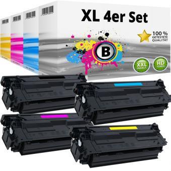 Set Alternativ HP Toner 508X / CF360X CF361X CF362X CF363X