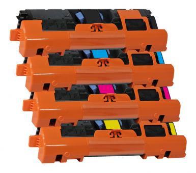 Alternativ Toner HP 122A Q3960A+Q3961A+Q3962A+Q3963A Multipack