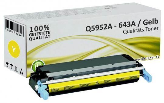 Alternativ HP Toner 643A Q5952A Gelb