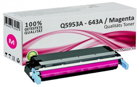 Alternativ HP Toner 643A Q5953A Magenta