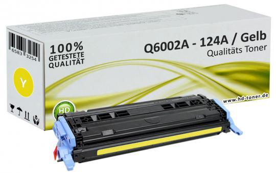 Alternativ HP Toner 124A Q6002A Gelb